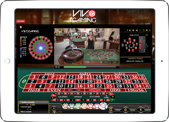 gaming-club - Live Roulette