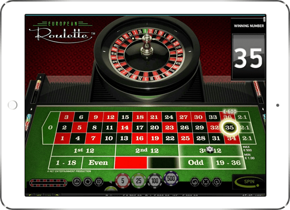 spin-palace - European Roulette